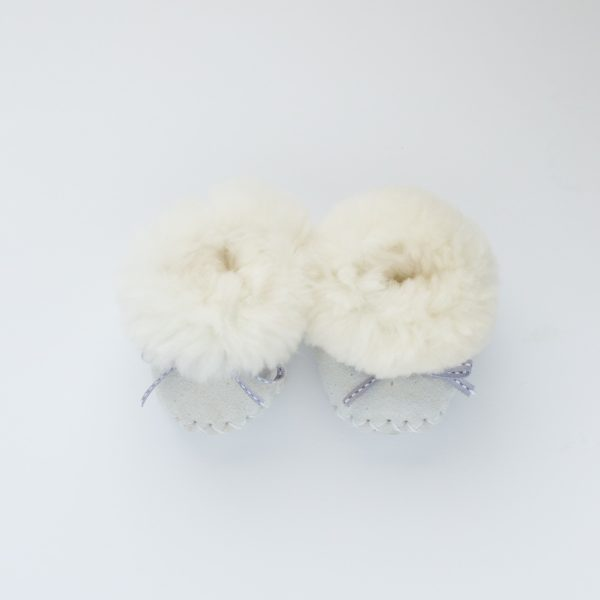 Baby Slippers - White