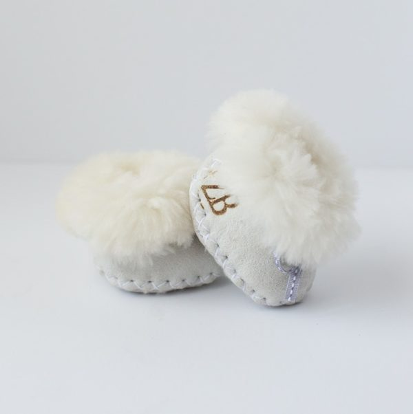 Baby Boots - White