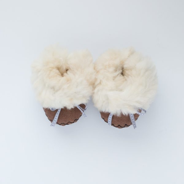 Baby Slippers - Brown